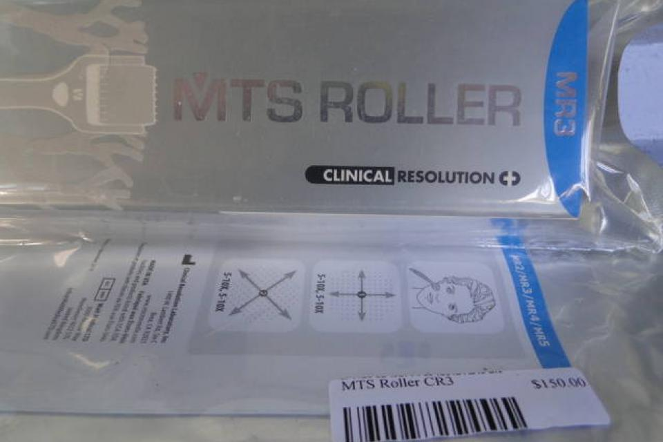 MTS CR3 Micro Needle Roller FDA Skin Therapy System Large Photo