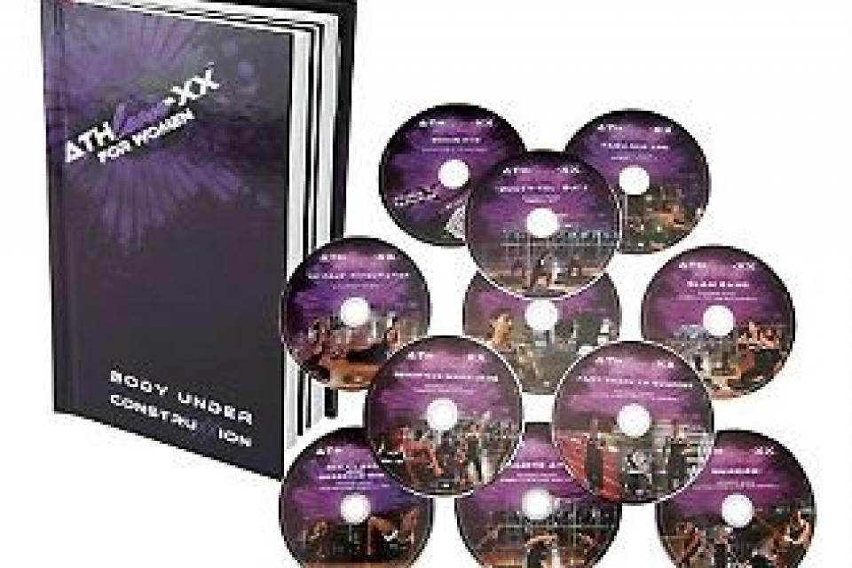 Athlean-XX for Women Training System w/ 11 DVDs & Meal Plan Large Photo