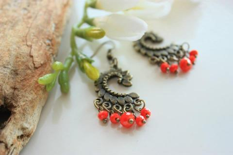 Antique Earrings Photo