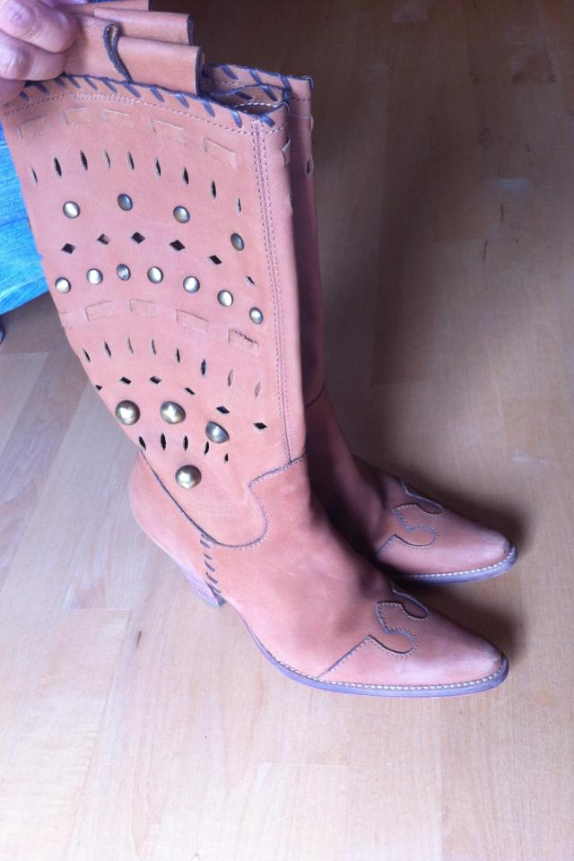 Boutique 58 Cowboy Boots (size 7.5) Photo