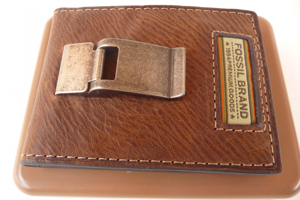 Fossil Men's Roberts ID Bifold Wallet ML2267200 Large Photo