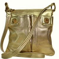 Marc by Marc Jacobs - Totally Turnlock Crossbody Handbag - Gold Photo
