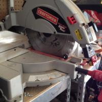 Sears Craftsmen Miter Saw Photo