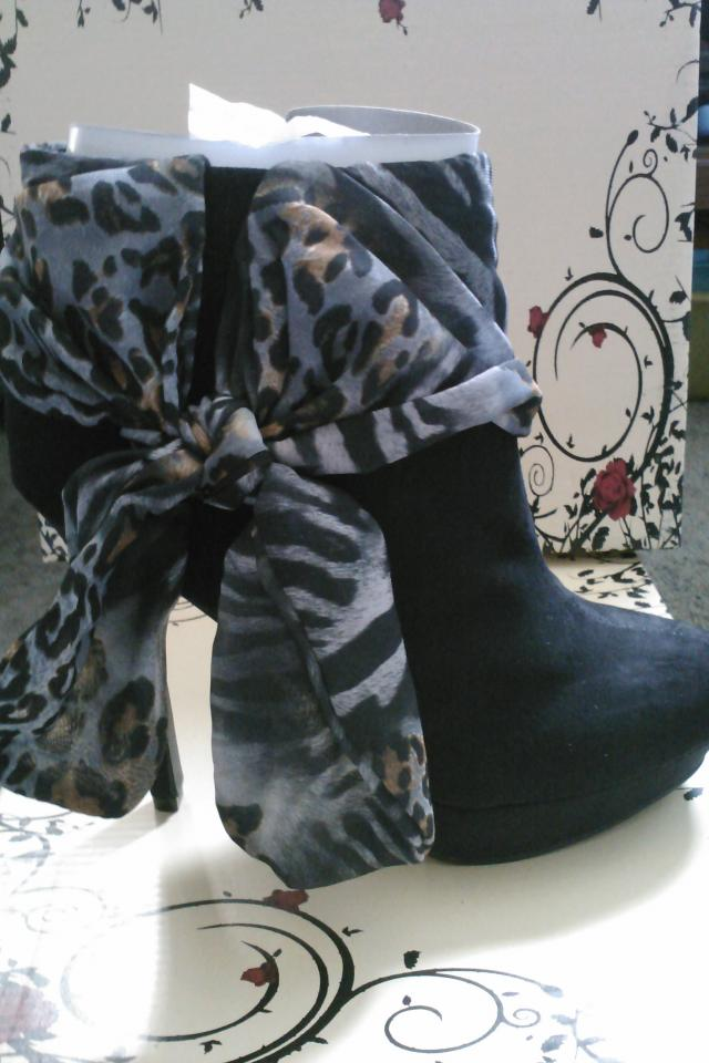 Animal Print Ankle Bootie Photo