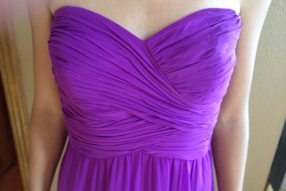 Ralph Lauren Evening - Brand New, tags still on.  Beautiful lavender gown. Large Photo