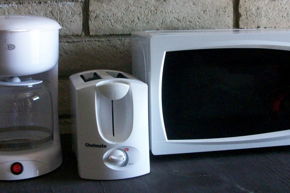 Dorm-Apt-Home Small Appliance Set, Microwave-Coffee Maker-Toaster Large Photo