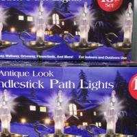*NEW* 10 PC Candlestick Path Lights - Christmas-Weddings-Parties *NEW* Photo