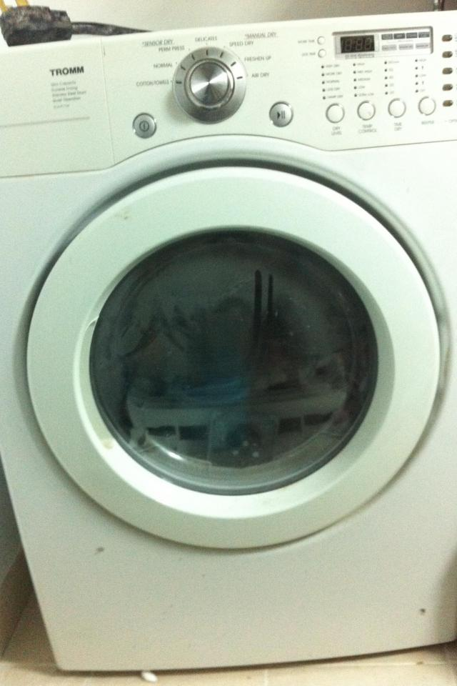 LG Dryer machine Large Photo