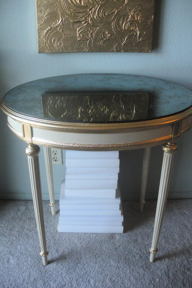French Table, Desk or Vanity and Chair Photo