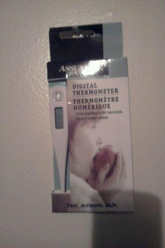 NEW ASSURED DIGITAL THERMOMETER!  Photo