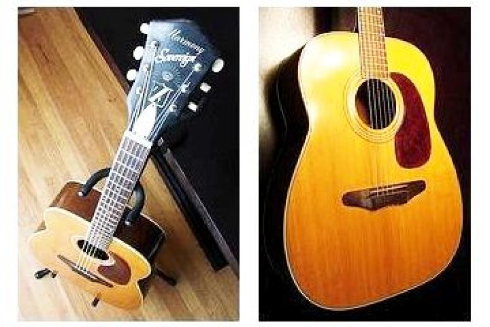 * 1968 - Acoustic Guitar - Collectible Large Ph