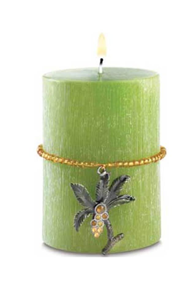 Tropical Safari Candle Photo