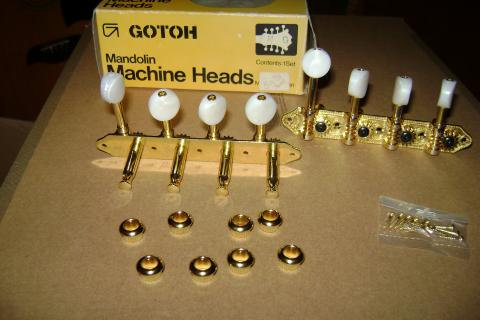 GOTOH MANDOLIN MACHINE HEADS Photo