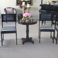 Chic Chairs-Glossy black paint Photo