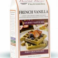 French Vanilla Waffle Mix Photo