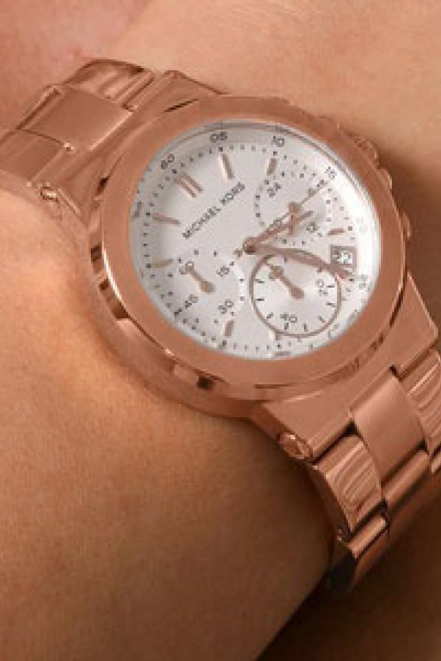 Michael Kors Rosegold Dylan Chronograph Watch (W/ BOX & ORIG. PACKAGING) Photo