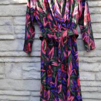 Vintage Floral Print Dress Photo