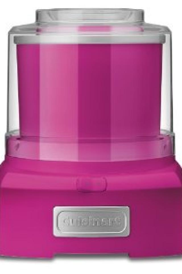 Cuisinart ICE-21PKSLT Frozen Yogurt-Ice Cream & Sorbet Maker, Raspberry Photo