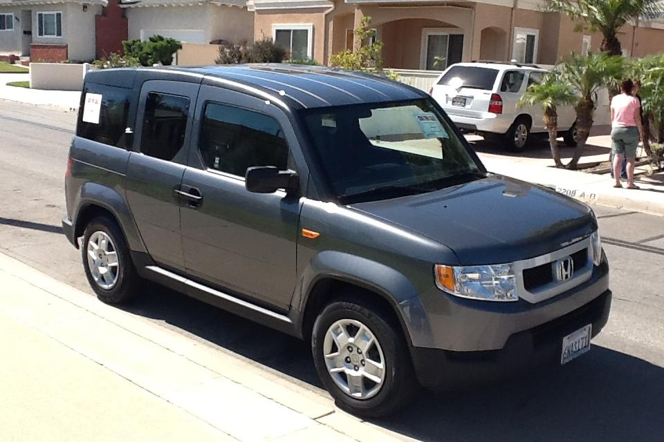 2010 HONDA ELEMENT 4D SPORT UTILITY LX Large Photo