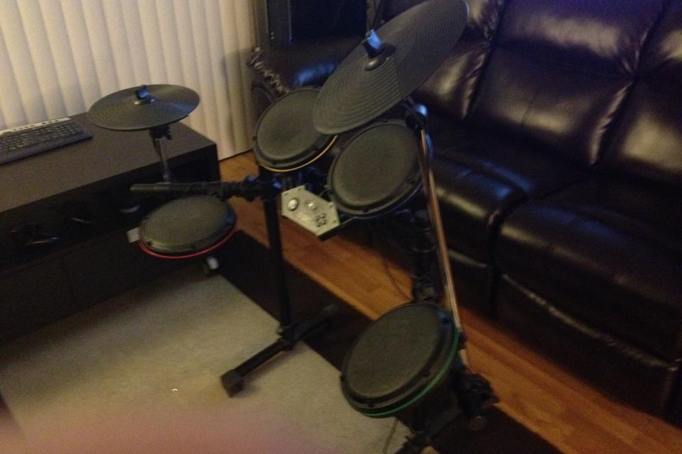 Ultimate Rock Band Setup For Xbox 360 Large Photo
