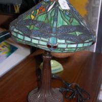 Tiffany style lamp  Photo