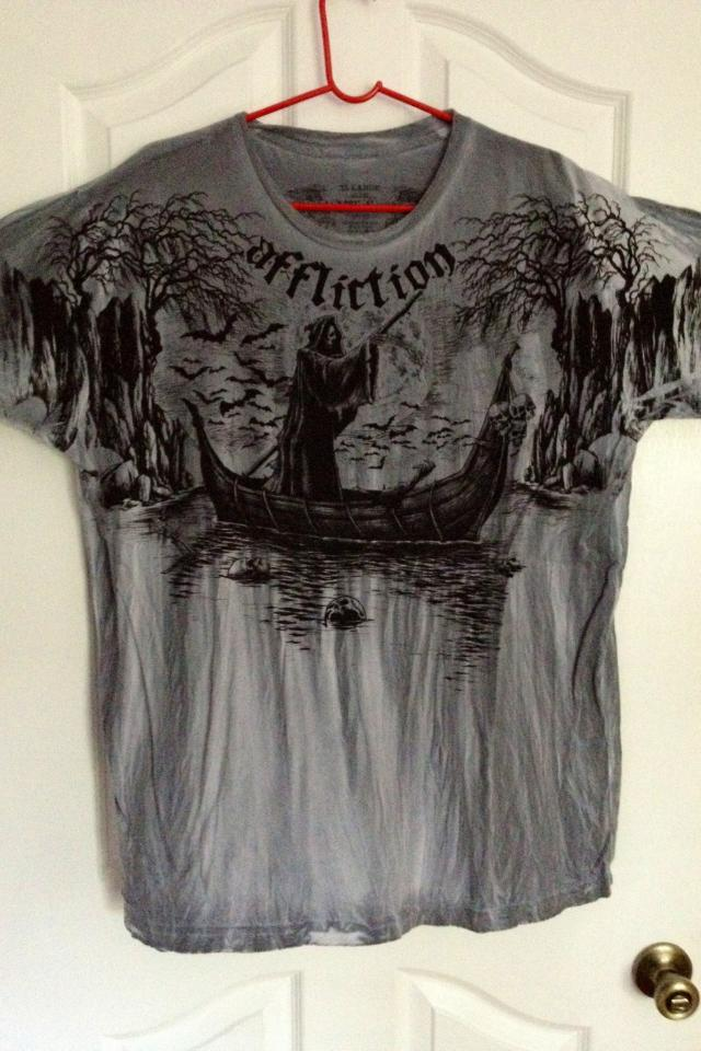 Men's Affliction XXL Shirt Photo