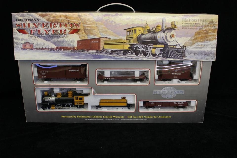 Bachmann Silverton Flyer Train Set - Brand New In Box Large Photo