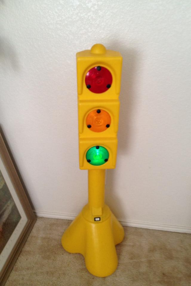 Vintage 3ft tall working traffic light Photo