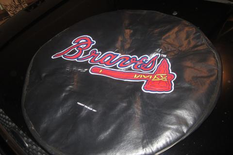 Atlanta Braves Tire cover Photo