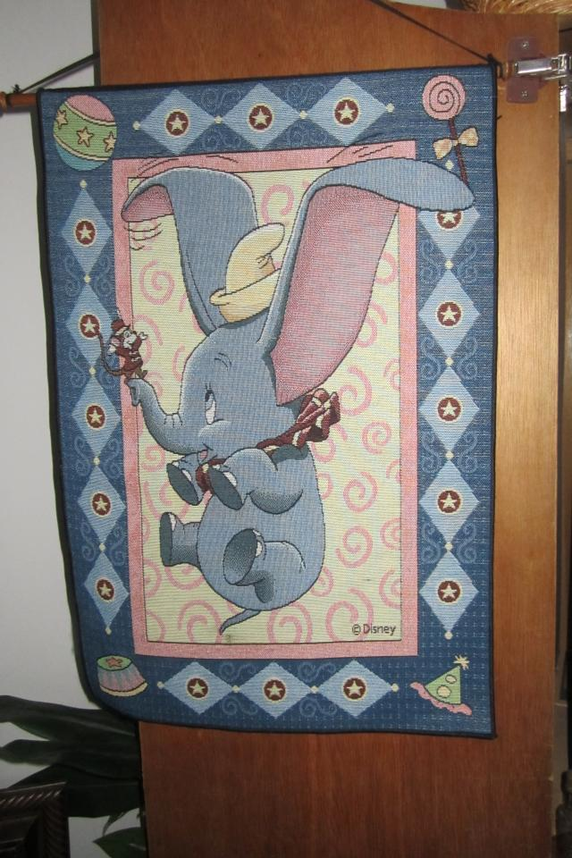 RARE Dumbo Tapestry Large Photo