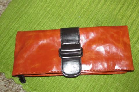 Vegan Leather Clutch and ID Holder Photo