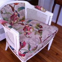 Newly restored vintage chair Photo