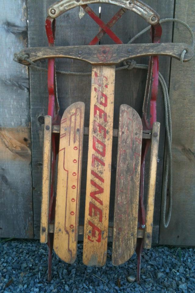 Old speedliner sled Photo