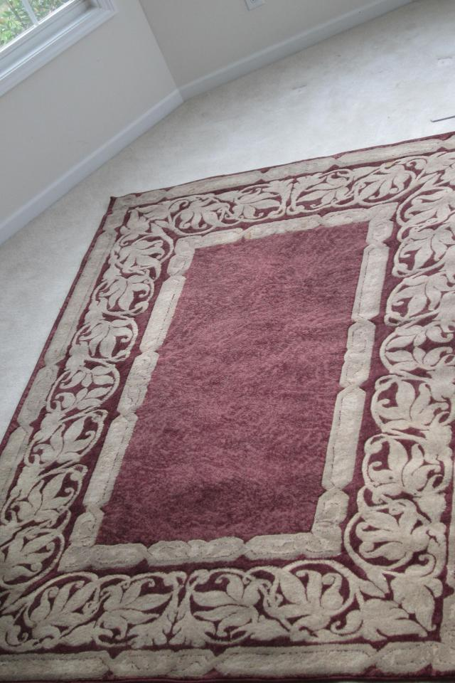 Large Oriental style rug Photo