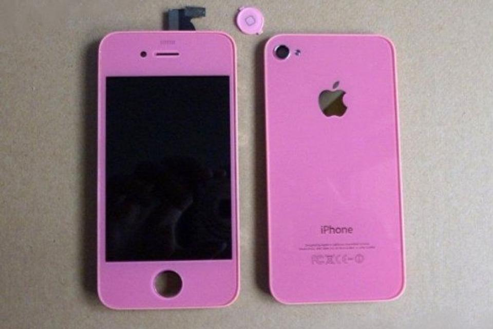 Pink iPhone 4 or 4s Conversion Kit Large Photo