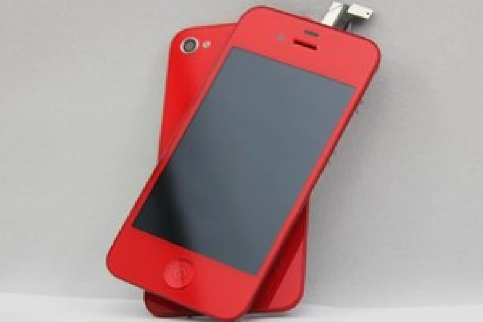 Red iPhone 4/4s Conversion Kit Large Photo
