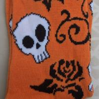 Ladies Skull Halloween Socks Free Ship Photo