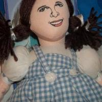 Wizard of Oz Dorothy Plush Doll Free Ship Photo