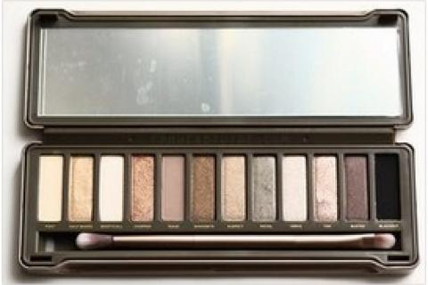 urban decay naked 2 eyeshadow kit palette neutral smokey eyes set  12 colors and brush Photo