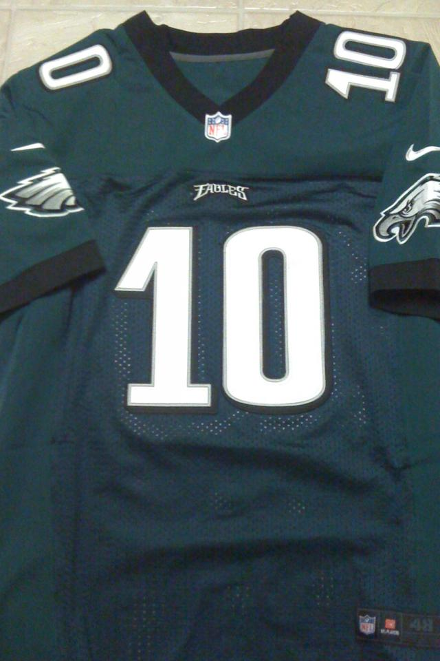 Desean Jackson Philadelphia Eagles New NFL Elite Jersey Size 48 (XL) NWT Photo