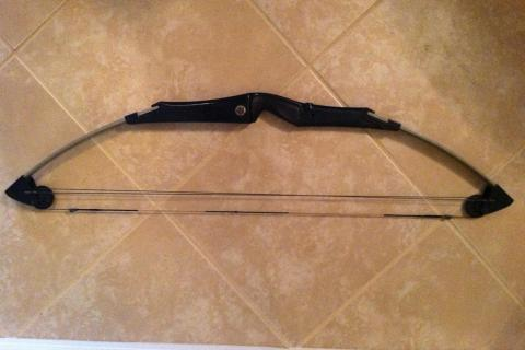 COMPOUND BOW/BEAR SILVER-MAG  AMO 33