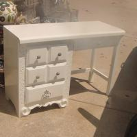 FRENCH DESK ADULT SIZE LOTS OF STORAGE Photo