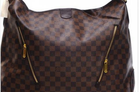 BAG LOUIS VUITTON DAMIER CANVAS ARTSY HANDBAG PURSE   Photo