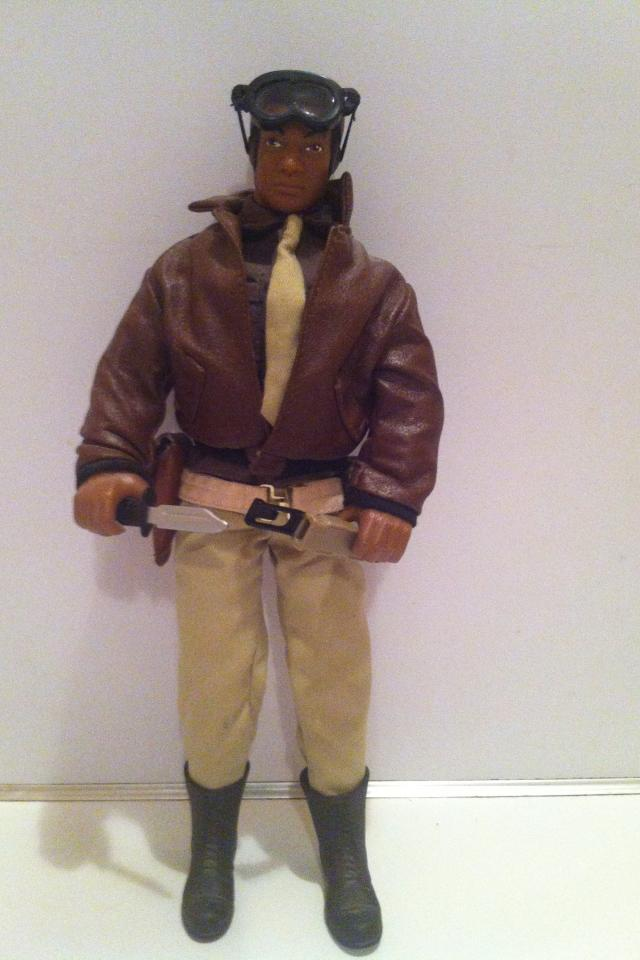 G.I.Joe wwII 50th anniversary edition black pilot (1996) Photo