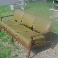 HANS WEGNER 3 SEATER COUCH  Photo