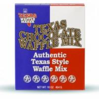 Texas Chocolate Waffle Mix Photo