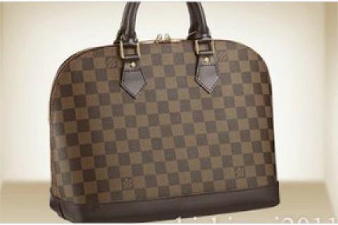 Alma Louis Vuitton Damier Handbag tote purse clutch lv new bag Photo