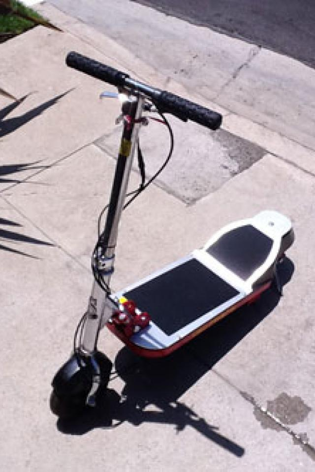 CSI: Miami Electric Scooter Photo