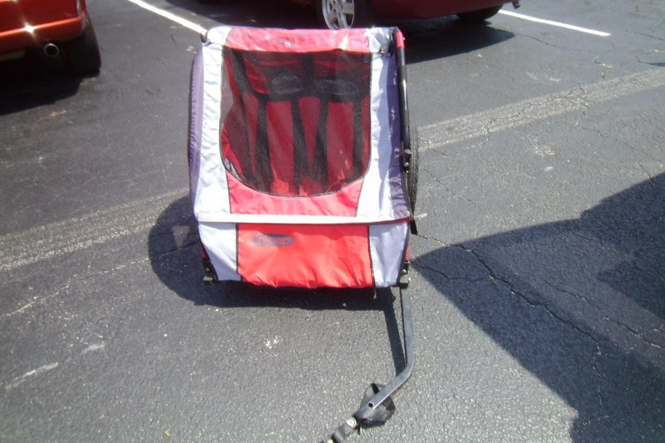 BIKE TRAILER FOR TODDLER/DOUBLE Large Photo