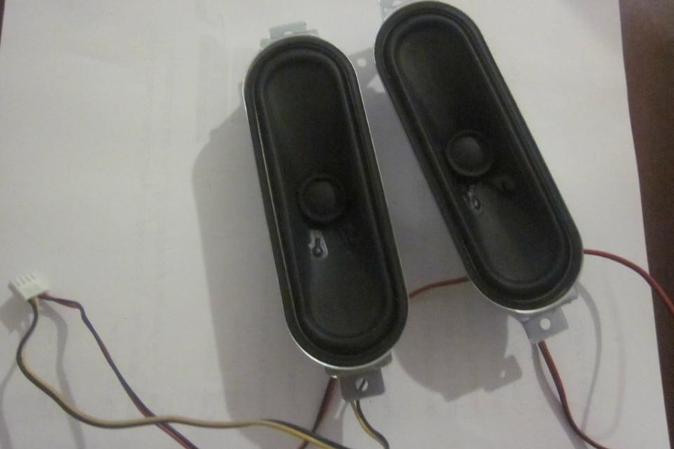 SAMSUNG HP-T4254X/XAA SPEAKER SET BN96-04704A G1340403 B7D269J HPT4254 Large Photo